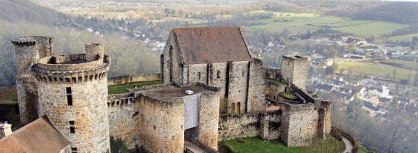 Chevreuse and the château de la Madeleine