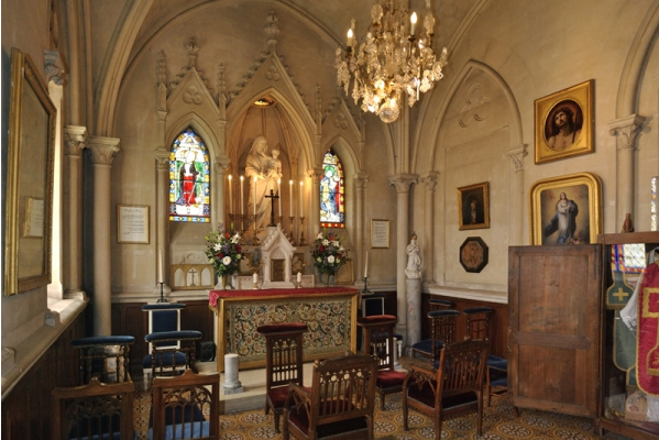 The Chapel of the Château de Breteuil