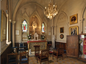 La chapelle du château de Breteuil