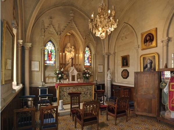 The Chapel of the Château de Breteuil