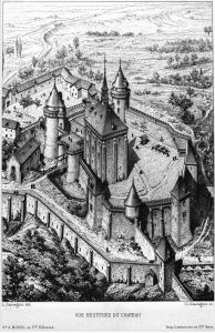 L'attribut alt de cette image est vide, son nom de fichier est Chevreuse-château-Moyenäge-Sauvageot-194x300.png.