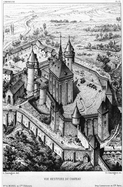 L'attribut alt de cette image est vide, son nom de fichier est Chevreuse-gravure-château-Sauvageot-.png.