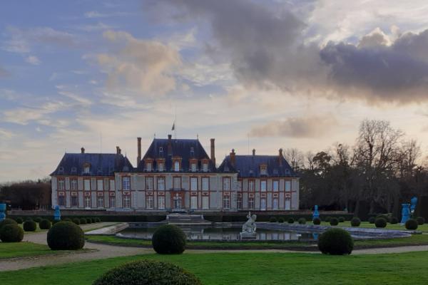 Promenade Breteuil parc et jardins en  février