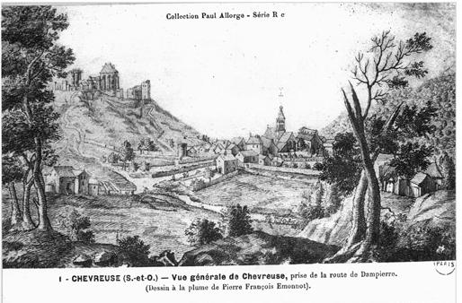 L'attribut alt de cette image est vide, son nom de fichier est Chevreuse-dessin-Emmenot-vue-de-louest-Pop.png.